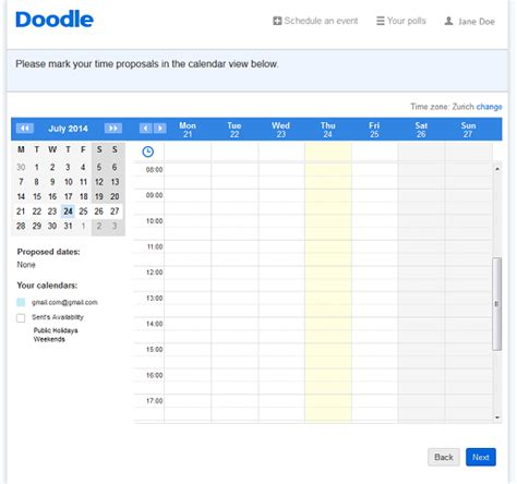 how to use doodle for scheduling use doodle s meeting scheduling software for and