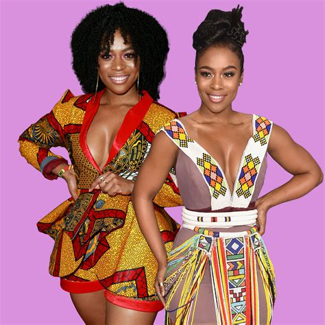african american red carpet looks nomzamo mbatha on intentionally wearing african designers