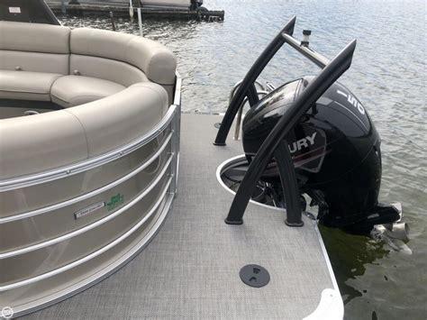 used pontoon boats angola indiana 2016 used south bay 523rs pontoon boat for sale 48 400