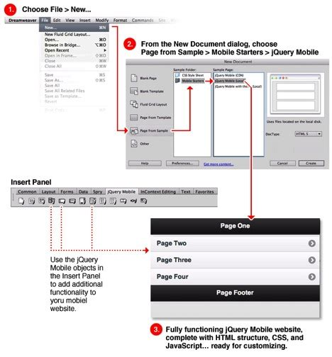 jquery tutorial advanced pdf create advanced design templates in dreamweaver for jquery