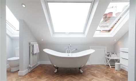 bathroom in loft conversion holly bush lane 50 degrees north
