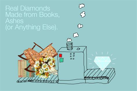 diamonds from ashes books real diamonds made from books ashes or anything else