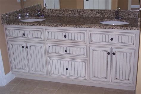 bathroom cabinets crown baseboard beadboard and trim
