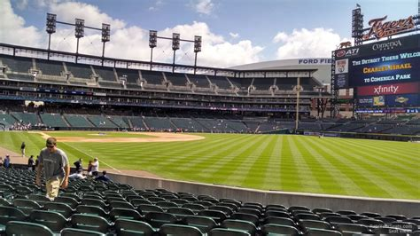 Section 112 Comerica Park by Comerica Park Section 112 Detroit Tigers Rateyourseats