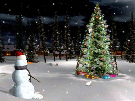 christmas eve 3d screensaver christmas screensaver download
