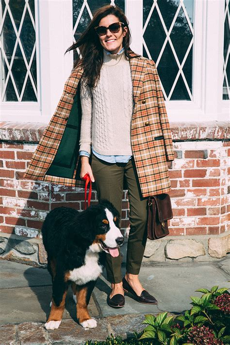 never out of style the preppy look for fall be modish