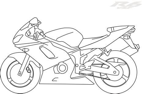 yamaha motorcycle coloring pages yamaha motorcycle pages coloring pages