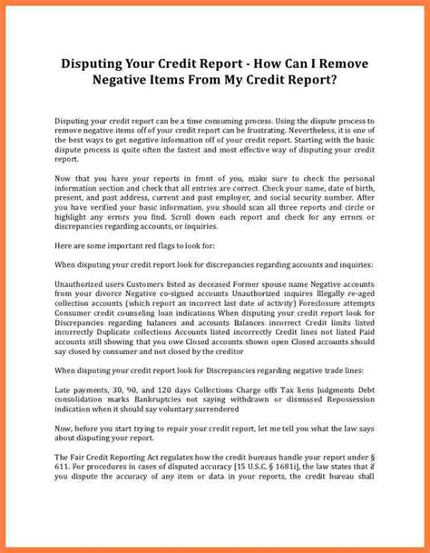 Sle Letter Dispute Late Payment Credit Report 8 getting late payments removed from credit report