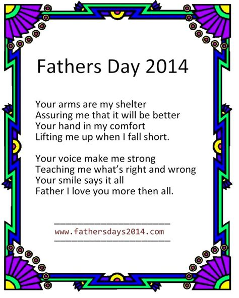 christian fathers day poem christian fathers day poems 2014 fathers day 2014