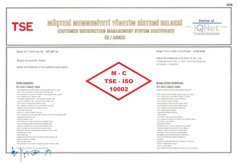 our customer satisfaction management is certified news