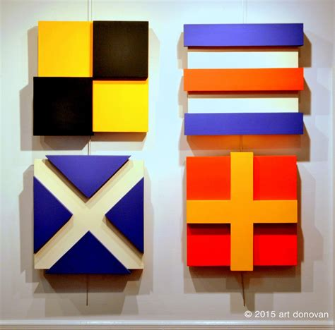 nautical painting painting quot nautical flags three dimensional paintings