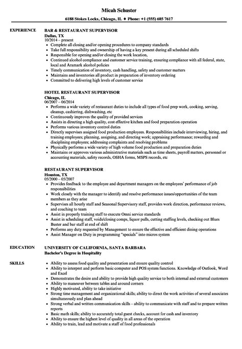 housekeeping supervisor resume resume for housekeeping business