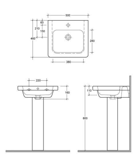 standard bathroom basin height resort 550 basin standard height pedestal
