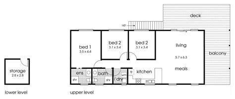 Pole Barn House Plans by Simple And Straightforward Cabin Floor Plan 3 Bedrooms
