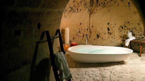 cave bathroom sextantio le grotte della civita basilicata italy
