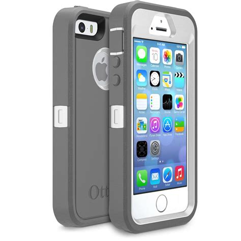 otterbox 7733322 defender iphone 5 iphone 5s iphone se black ca cell phones accessories
