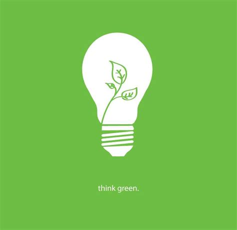 Think Green 30 creative light bulb logos designs showcase