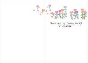thank you cards for volunteers it takes two inc
