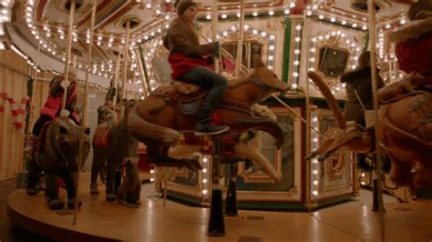 merry   carousel gif  hallmark movies mysteries find share  giphy