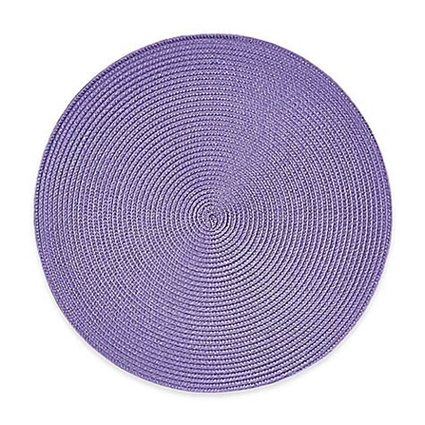 round to ours setting 1849499594 indoor outdoor round placemats set of 6 bed bath beyond