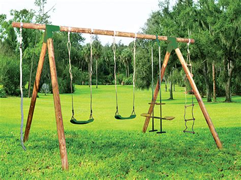 design swing set how to design a swing set with wood
