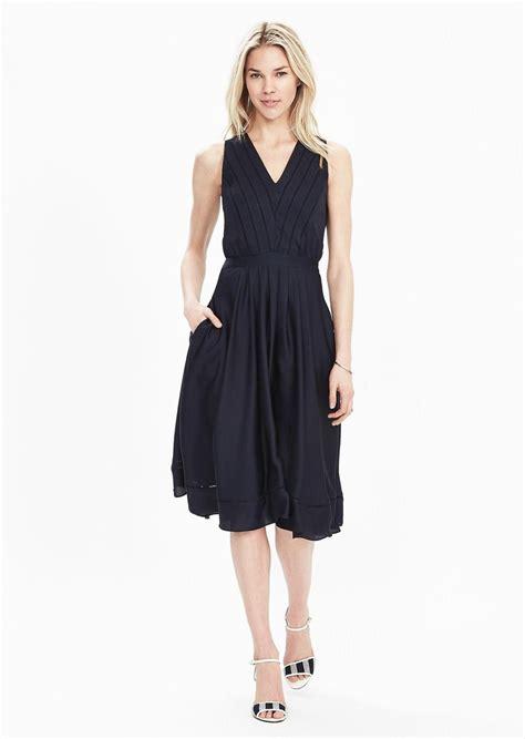 Dress Midi Banana banana republic satin midi vee dress dresses shop it to me