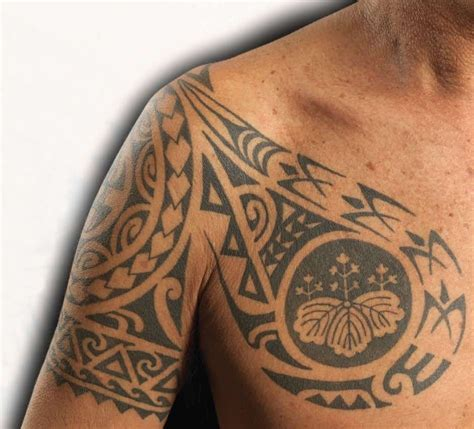 tropical tattoos for men hawaiian designs and meanings