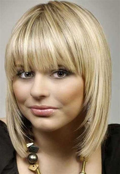Bob Hairstyles With Bangs by 20 Haircuts With Bangs For Faces Hairstyles