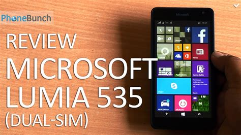Review Microsoft Lumia 535 microsoft lumia 535 dual sim review