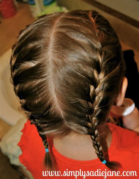 small french braid styles french braid pig tails beauty pinterest