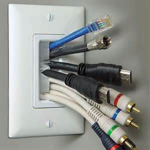 Wall Plate For Tv Mount 17 Best Images About Wall Mounted Tv Ideas Cable Geek
