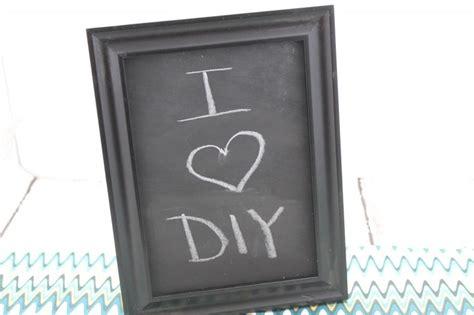 diy chalkboard foam board diy chalkboard framed