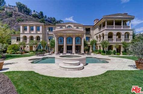 Kendall Dining Room 19 million 19 500 square foot tuscan mansion in los
