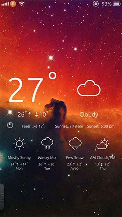 html lockscreen themes how to add weather to ios 7 lock screen with this awesome