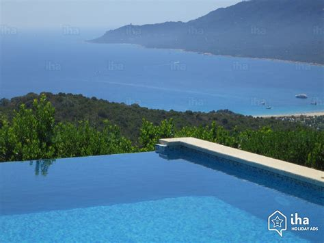 porto pollo corsica house for rent in porto pollo iha 60854