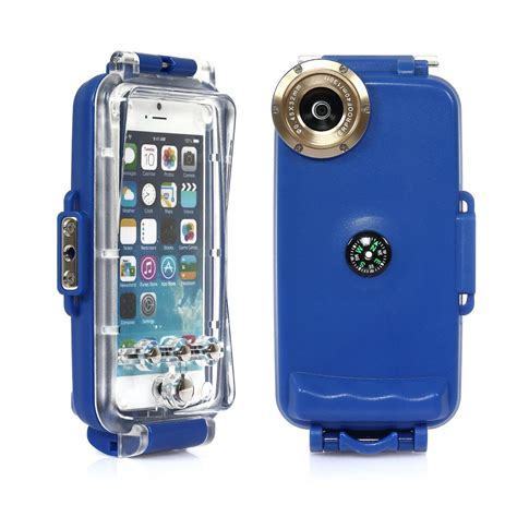 case housing for iphone 6 4 7 waterproof underwater clear diving housing cover case skin ebay