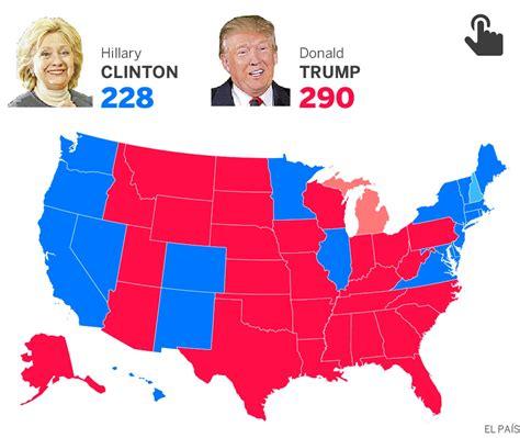 moraleja del resultado de las elecciones de usa resultados de las elecciones de estados unidos 2016
