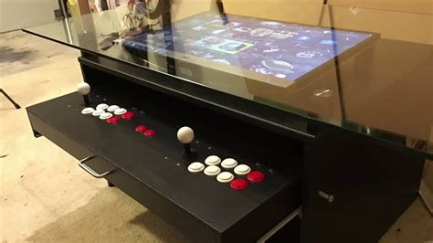 coffee table arcade coffee table arcade build