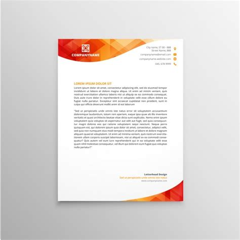 eps format letterhead designs letterhead template design vector free download