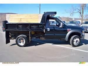 2008 ford f550 duty xl regular cab 4x4 dump truck in