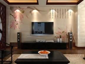 新中式电视背景墙装修效果图图片