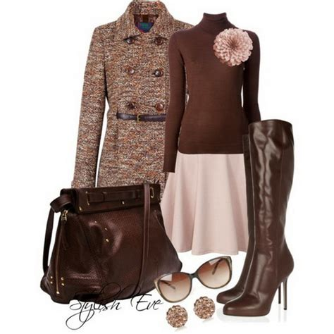 Fashion And Chocolate Womens Two by Brown Winter 2013 For By Stylish