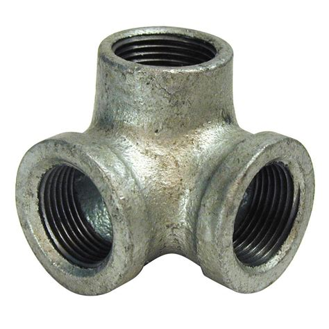 mueller global 1 2 in galvanized malleable iron 90 degree