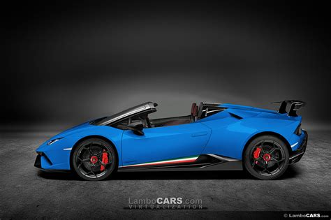 Huracan Performante Spyder almost ready for unveil.2018