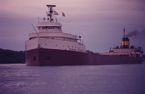 ss edmund fitzgerald sinking art deco designed freighter on the great lakes the edward