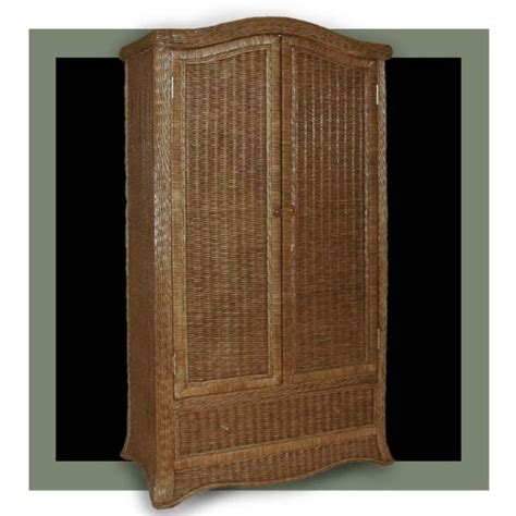 wicker armoire wardrobe stylish ii roma wicker bedroom roma wicker wardrobe