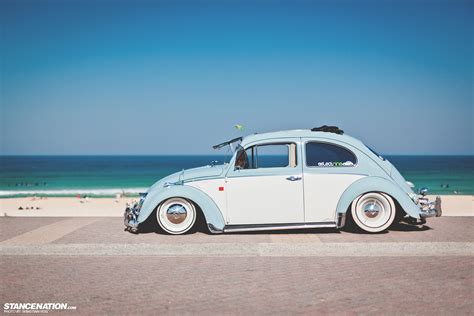 slammed volkswagen buggin bhathiya s gorgeous vw beetle stancenation