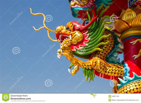 chinese dragon and phoenix cartoon vector cartoondealer