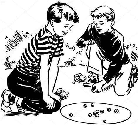 imagenes niños jugando a las canicas ni 241 os jugando canicas archivo im 225 genes vectoriales
