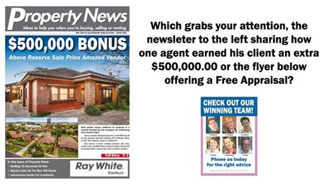 home appraisal do s and don ts why free appraisal flyers don t work and what is working